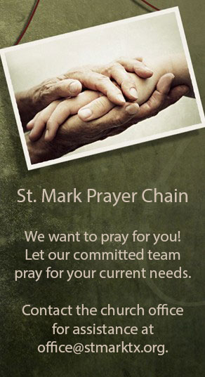 St. Mark Prayer Chain