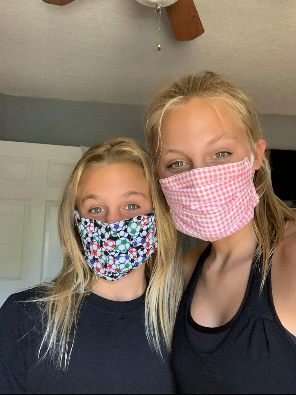 Reese and Marley-masked